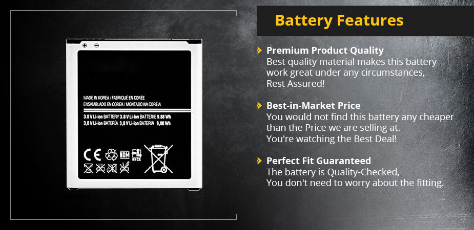 Samsung B600BU Replacement Battery